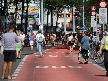 Verkehrsstadträtin Maria Vassilakou wird für die Umgestaltung der MaHü kritisiert.