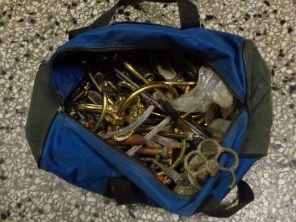 Diese Utensilien konnte die Polizei in der Tasche sicherstellen.