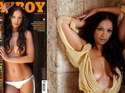 Radost Bokel zog sich für den September-Playboy aus.