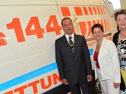 In Wien-Simmering wurde eine neue Rettungsstation eröffnet.
