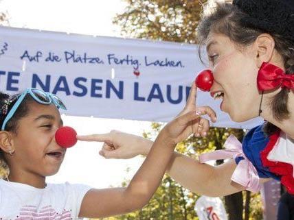 Am 8. September findet der 5. Rote Nasen Lauf in Wien statt..