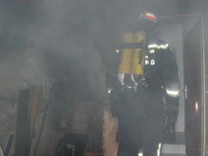 Im Bezirk Mödling musste die Feuerwehr am Mittwoch zwei Zimmerbrände löschen.