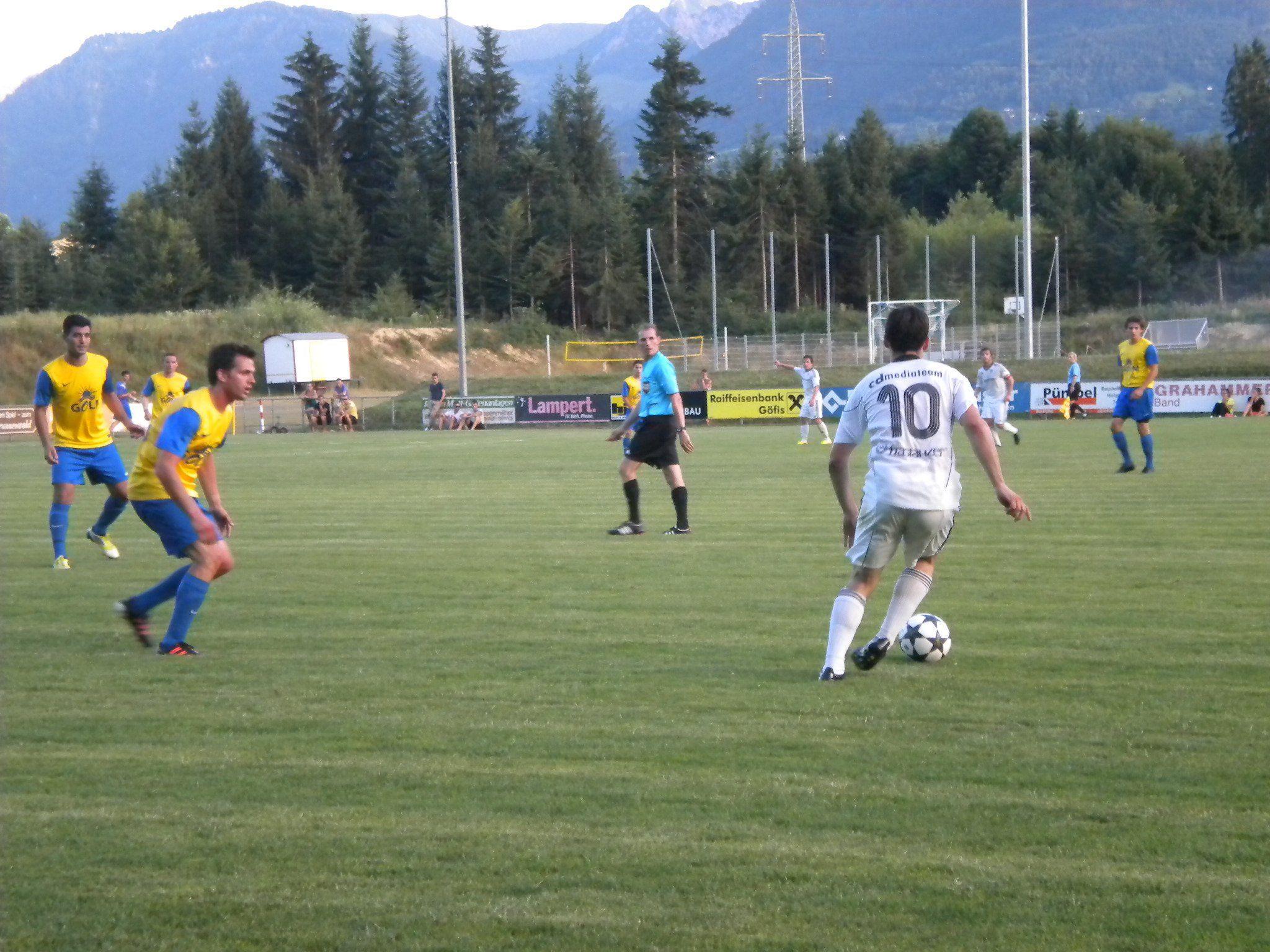 Der FC Schruns unterliegt in Brederis mit 3:5