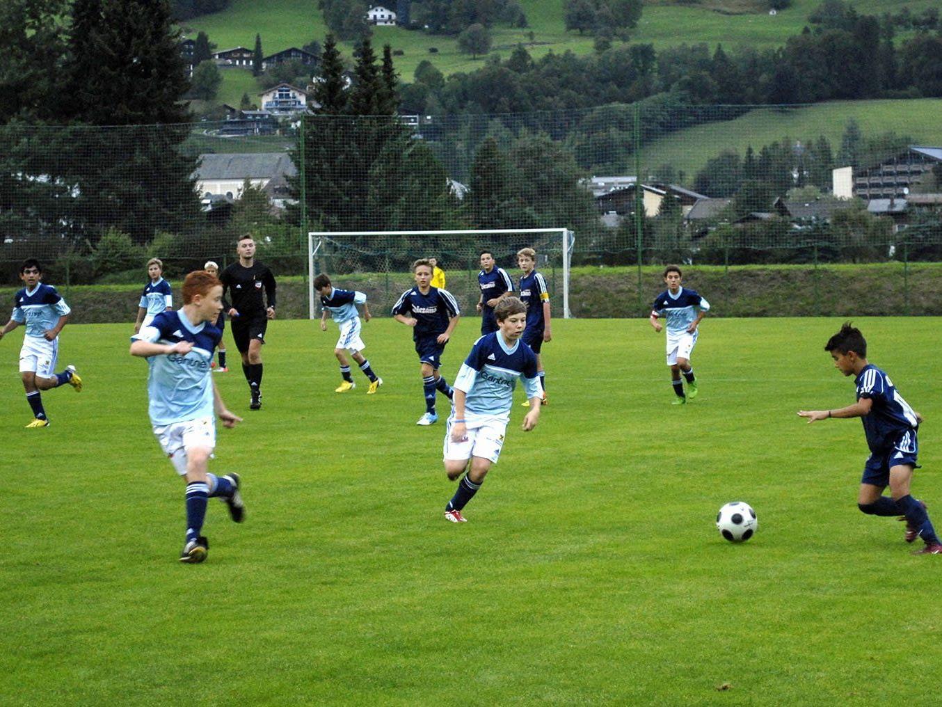U14-Spiel in Schruns: Montafon - Götzis