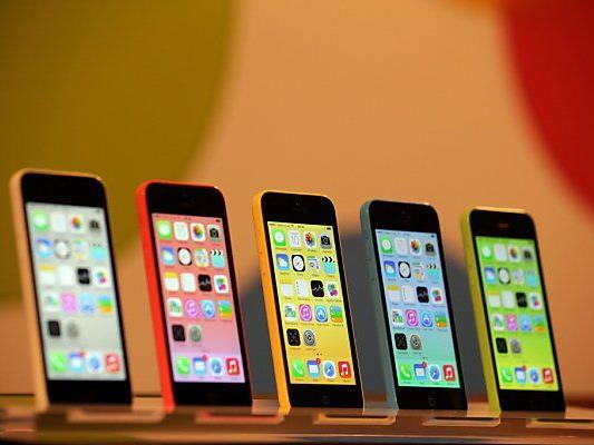 "Apples ""Billig""-iPhone 5C kommt in die Läden"