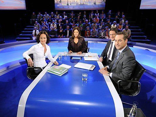 """Geschrumpfte """"Elefantenrunde"""" im ORF"""
