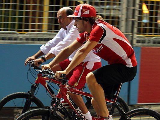 Alonso hegt große Leidenschaft für den Radsport