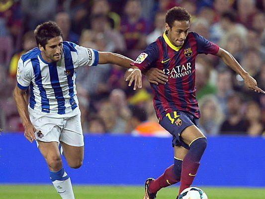 Erstes Ligator von Barca-Neuzugang Neymar