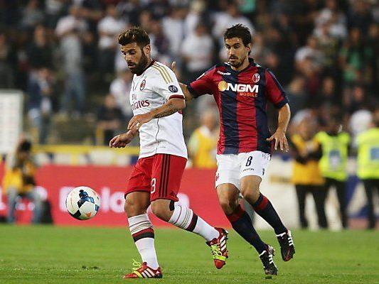 Garics erreichte mit Bologna ein 3:3 gegen Milan