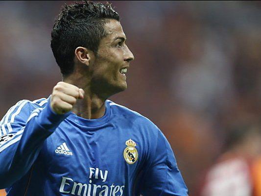 Ronaldo traf per Elfmeter