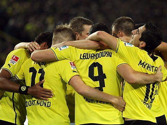 Dortmund, Bayern, Leverkusen bestreiten Heimspiele