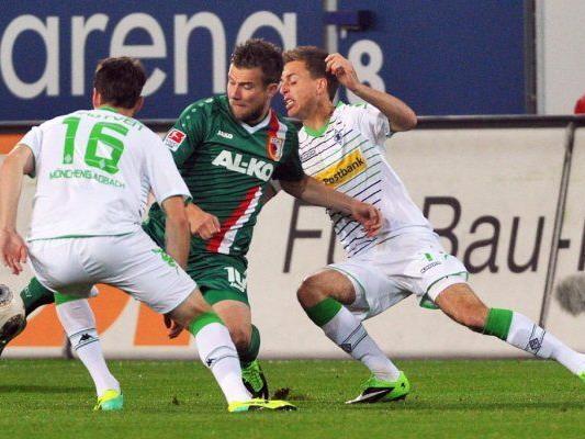 Augsburg empfing Borussia Mönchengladbach