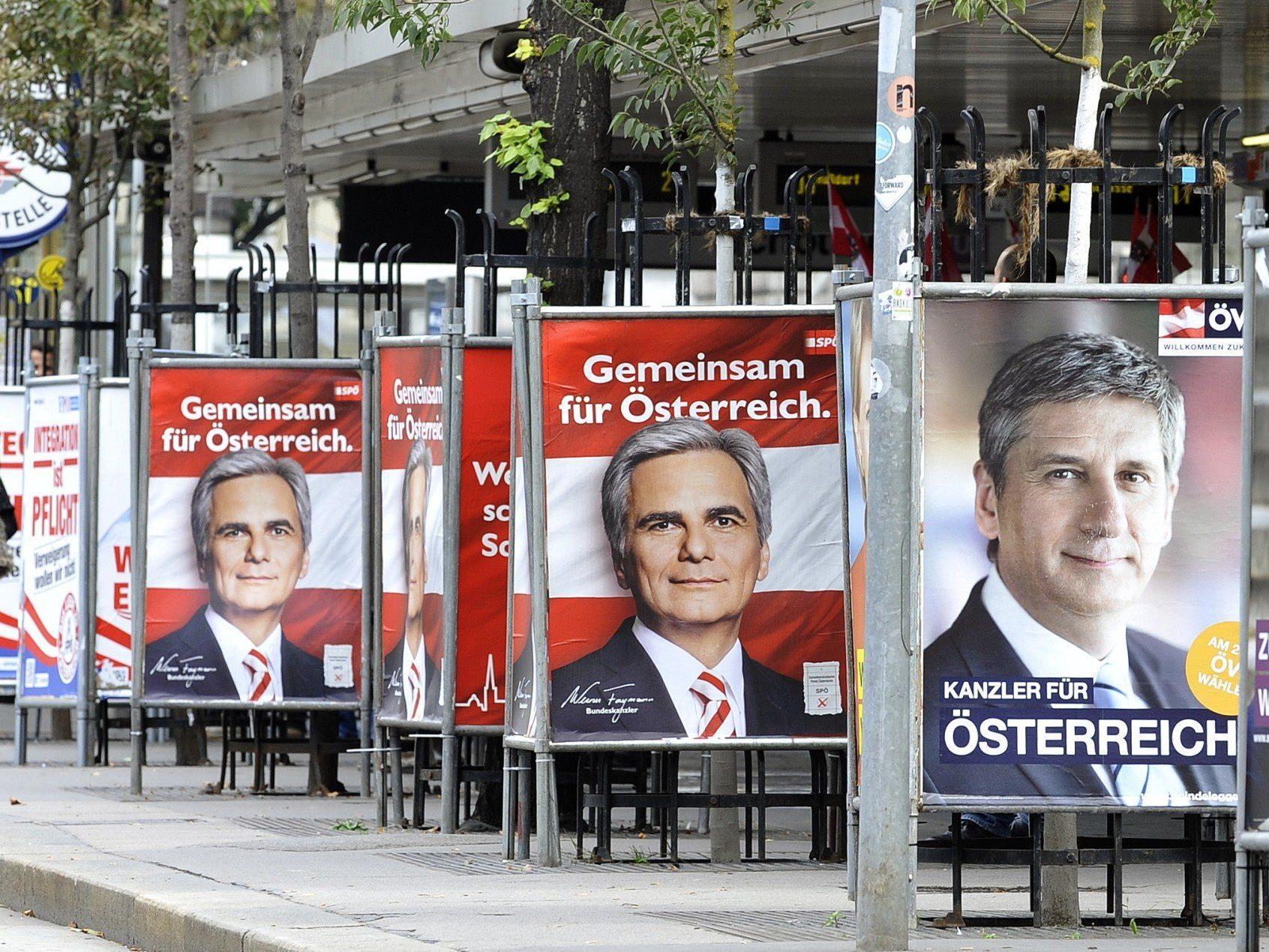 Letzte Mobilisierungen bei Wahlkampf-Schlussveranstaltungen