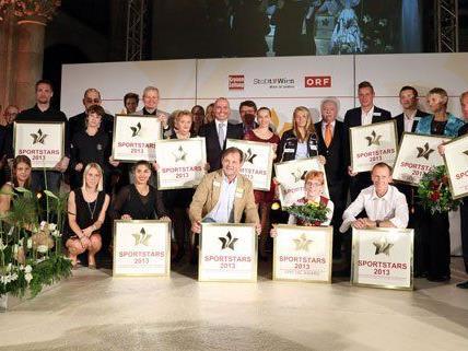 Das sind die Wiener Sportstars 2013.