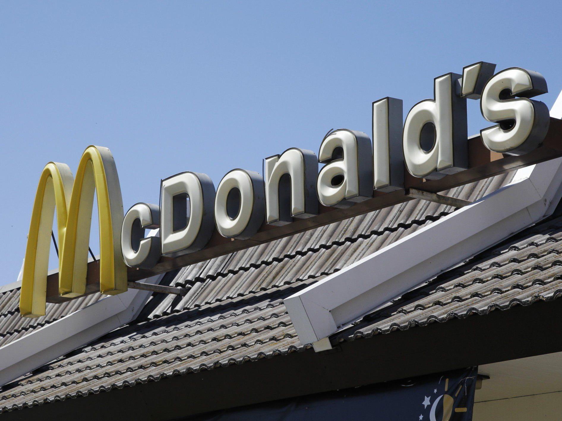 McDonald's-Onlinebestellung im Test in Wien-Hietzing