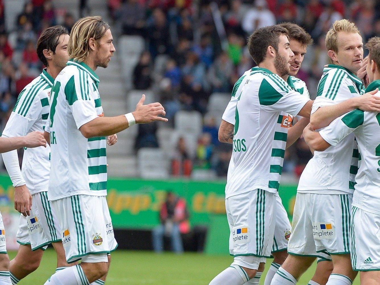 Der SK Rapid Wien startet am Donnerstag in die Europa League-Gruppenphase gegen FC Thun.