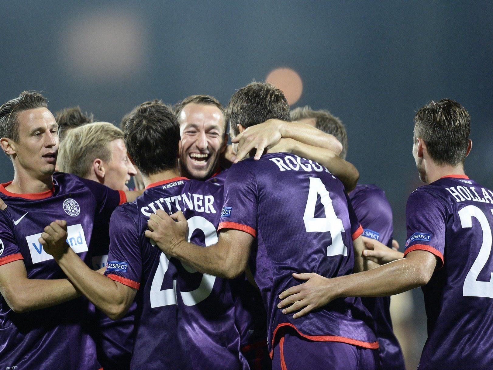 Wir berichten am Samstag live ab 19 Uhr vom Spiel FK Austria Wien gegen SV Grödig im Ticker.