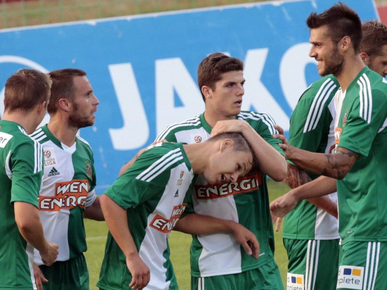 Wir berichten am Samstag ab 16.30 Uhr live vom Spiel SK Rapid Wien gegen WAC im Ticker.