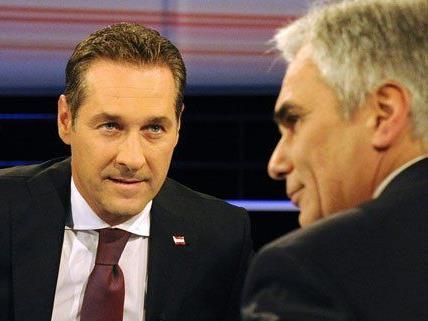 Strache verwies beim TV-Duell gegen Faymann auf türkische Wahlplakate. Die SPÖ kontert nun.