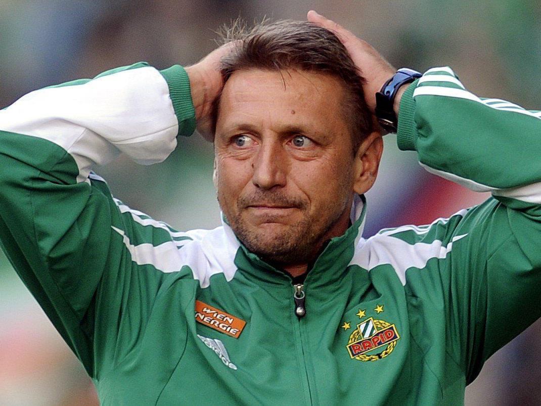 Der SK Rapid Wien musste sich am Sonntag gegen den WAC geschlagen geben.