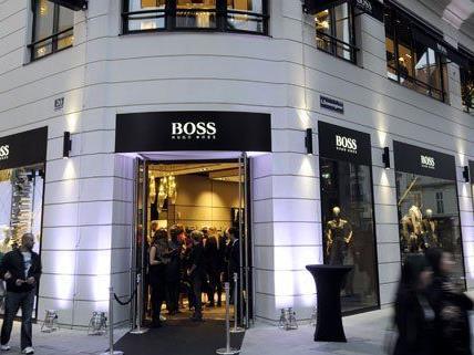 Eröffnungsparty des BOSS Flagship-Stores in Wien