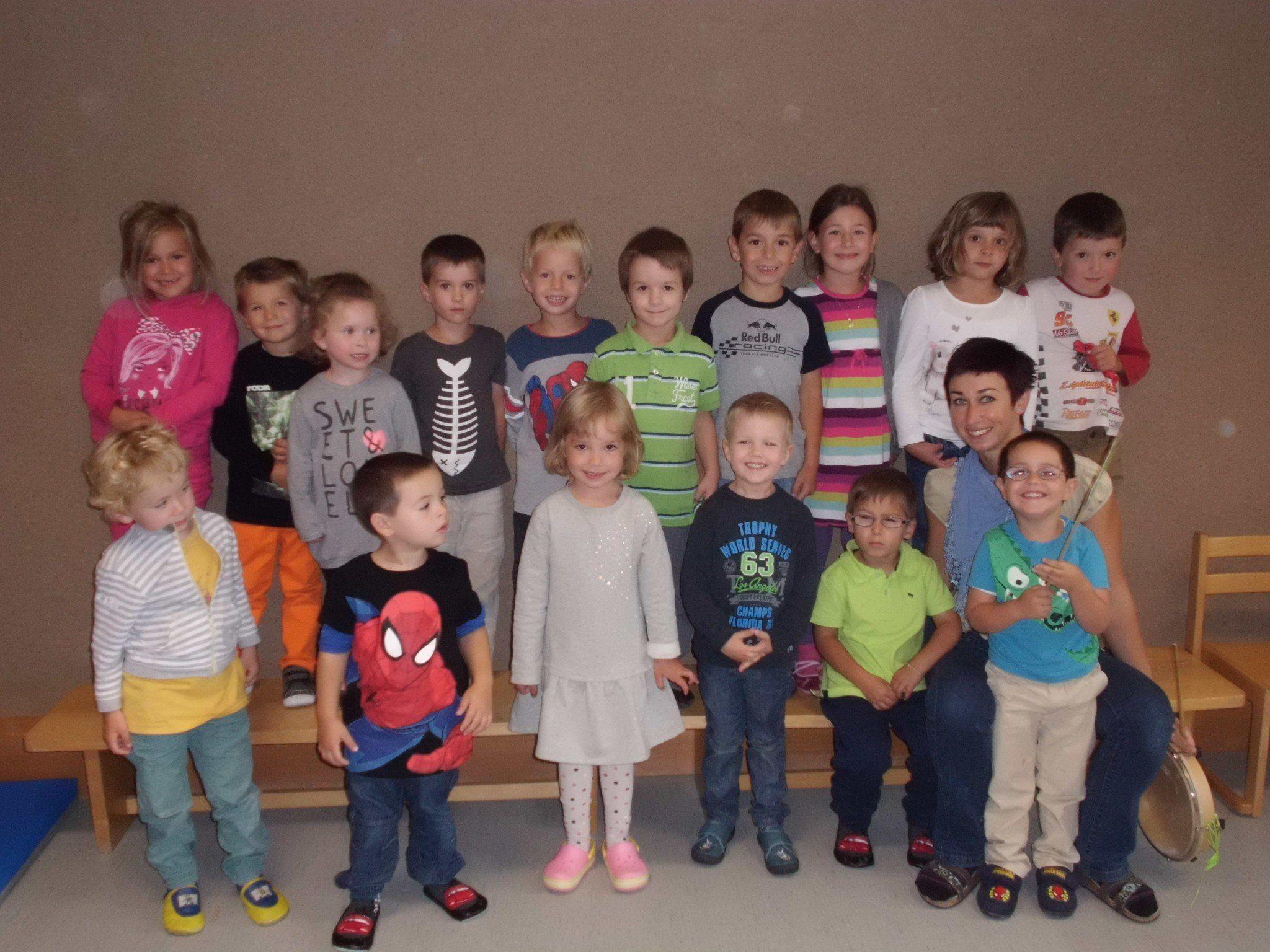 Die Kinder des Kindergarten Gamprätz