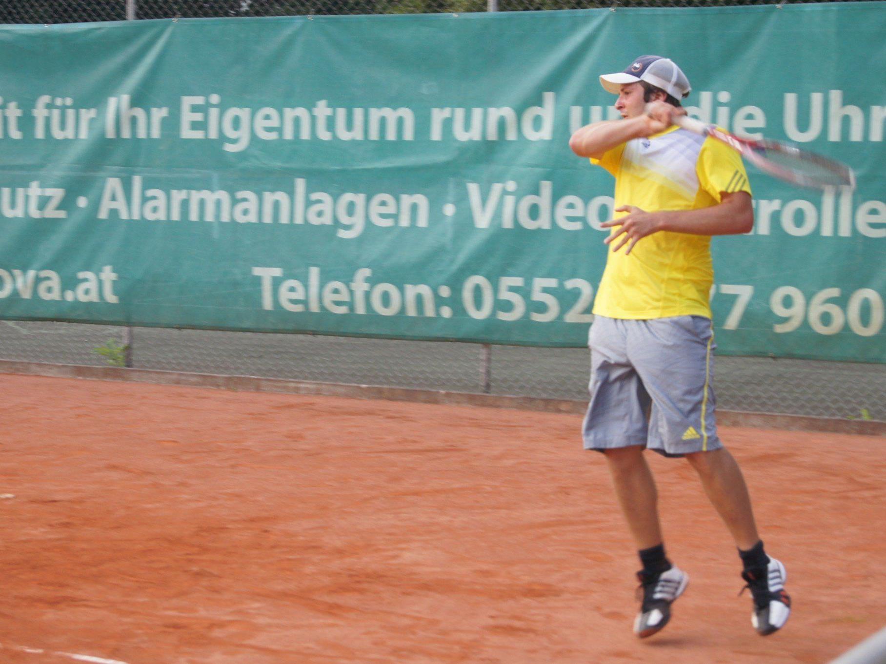 Spannende Matches am UTC Dornbirn.