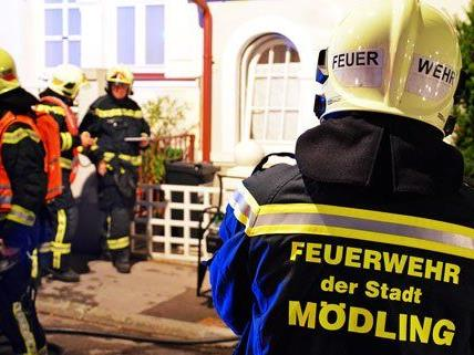 Keller eines Hauses in Mödling geriet in Brand