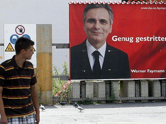 So sehen offizielle SPÖ-Plakate aus - die türkische Version produzierte ein Fan