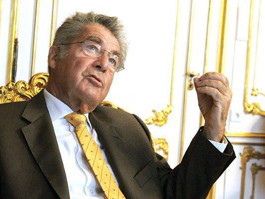 Heinz Fischer äußerte sich zu den Syrien-Flüchtlingen, die Österreich aufnehmen soll