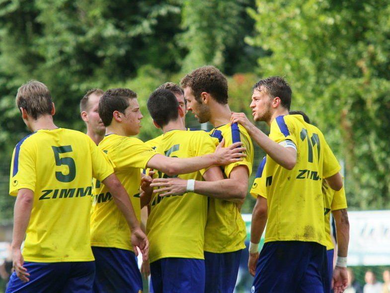 Triplepack von Wolfurt-Torjäger  Aleksandar Umjenovic beim 3:0-Auswärtssieg in Andelsbuch