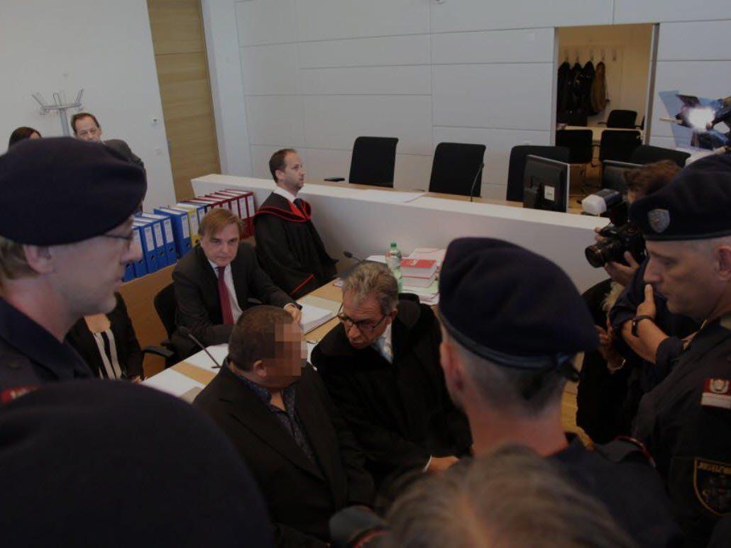 Bei der Verhandlung in Korneuburg