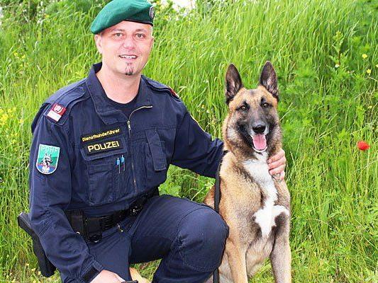 Dieser Polizeihund stellte den Tankbetrüger