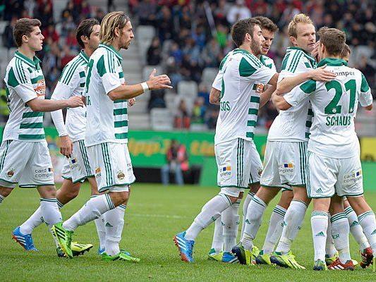 Beim Match gegen zwischen FC Wacker Innsbruck am Samstag
