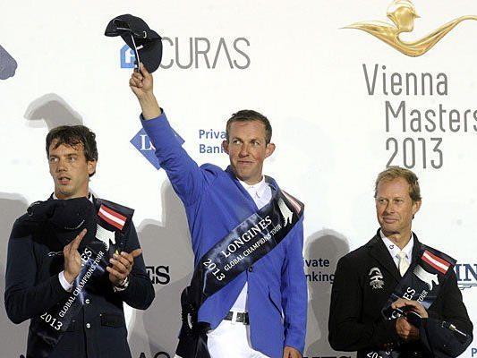 Siegreich bei den Vienna Masters: v.l.n.r Harrie Smolders (NED),Gerco Schröder (NED) und Rolf-Göran Bengtsson (SWE)