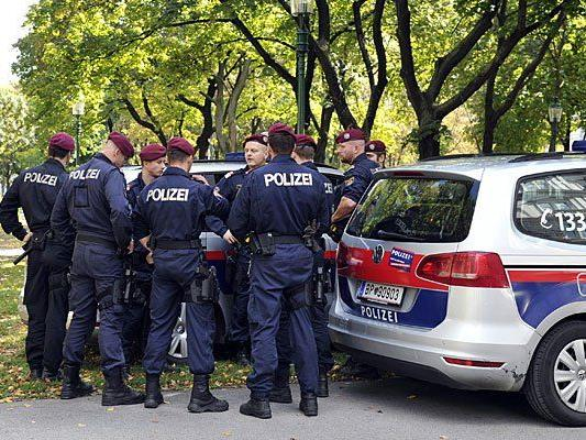 Die Polizei räumte erfolgreich die Votivkirche