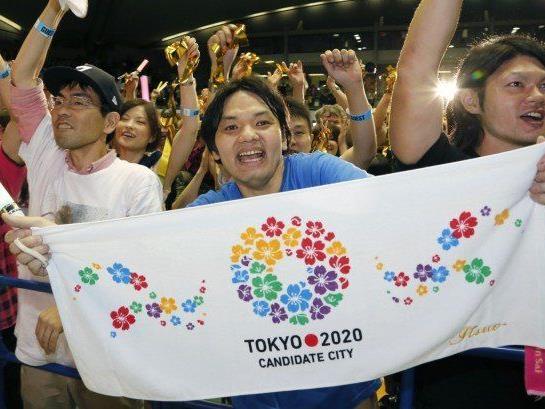 Tokio wird Ausrichter von Olympia 2020.