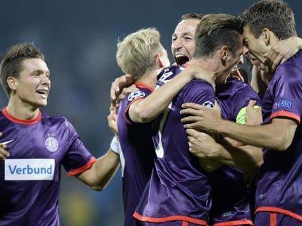 Die Wiener Austria will auch in der Champions League überraschen.