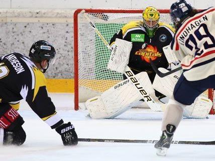 Die Vienna Capitals verabschieden sich von der europäischen Bühne mit fünf Niederlagen und drei Siegen.