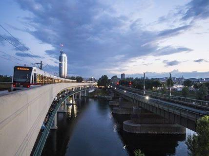 Die Tote wurde bei der U6-Station Neue Donau gefunden.