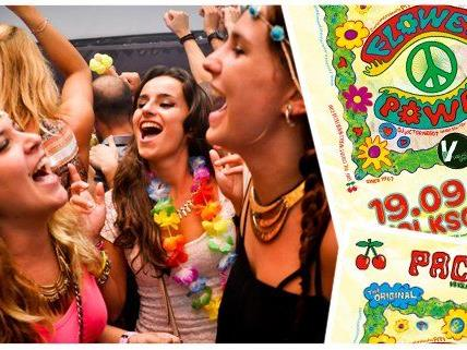 Die Flower Power Party bringt exklusiven Ibiza Flair nach Wien.