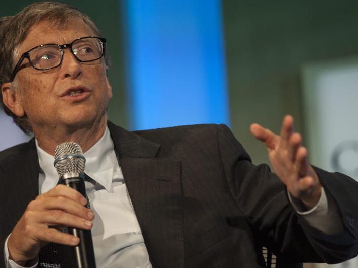 Bill Gates findet, dass die Tastaturkombination Strg + Alt + Entf ein Fehler war.