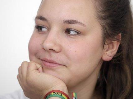Juliana Okropiridse will mit den Piraten vier Prozent erreichen.