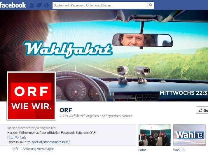 """BKS spricht """"Forenverbot aus"""" - Nutzung sozialer Netzwerke für ORF damit de facto nicht möglich."""