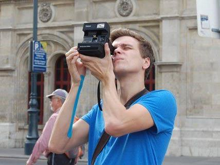 Durch die Linse der Polaroid-Kamera entdecken selbst Wiener die Stadt ganz neu.