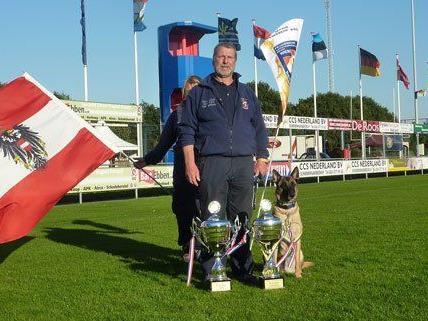 Ein Wiener gewann bei der Rettungshunde-WM.