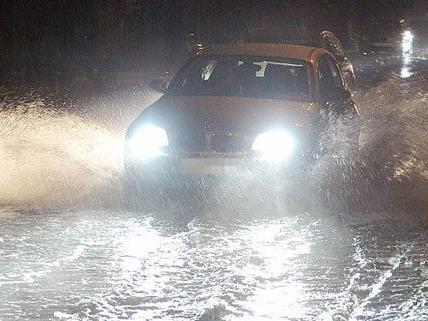 Bei Starkregen soll das Speicherbecken Überflutungen vorbeugen.