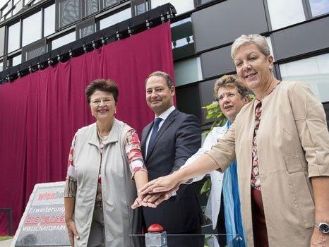 Am Mittwoch wurde der neue Wirtschaftspark eröffnet.