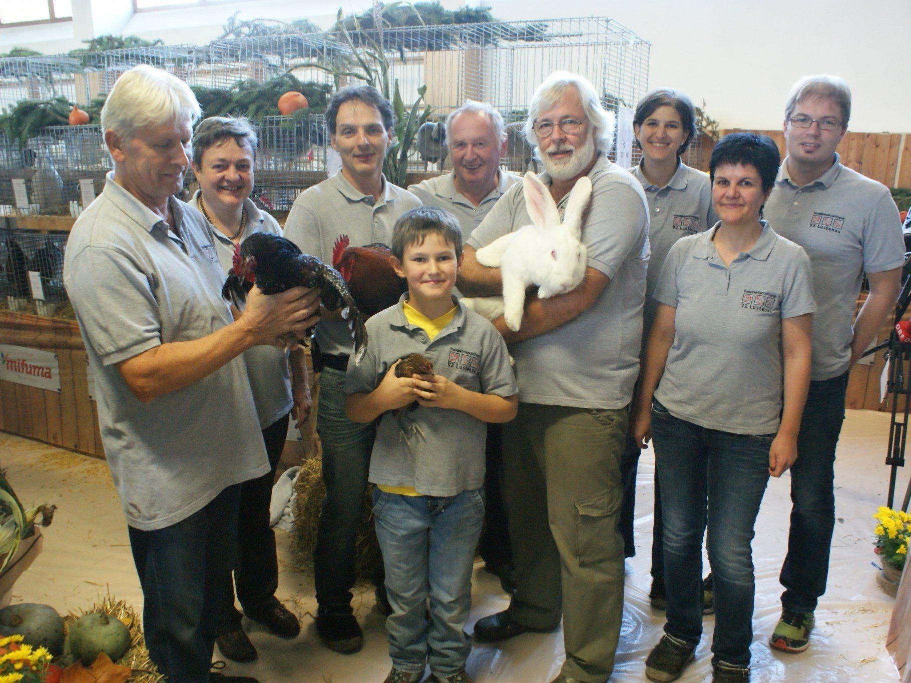 Die Rassekleintierzüchter zeigten am Wochenende ihre Tiere