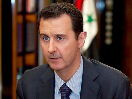 Machthaber Bashar al-Assad